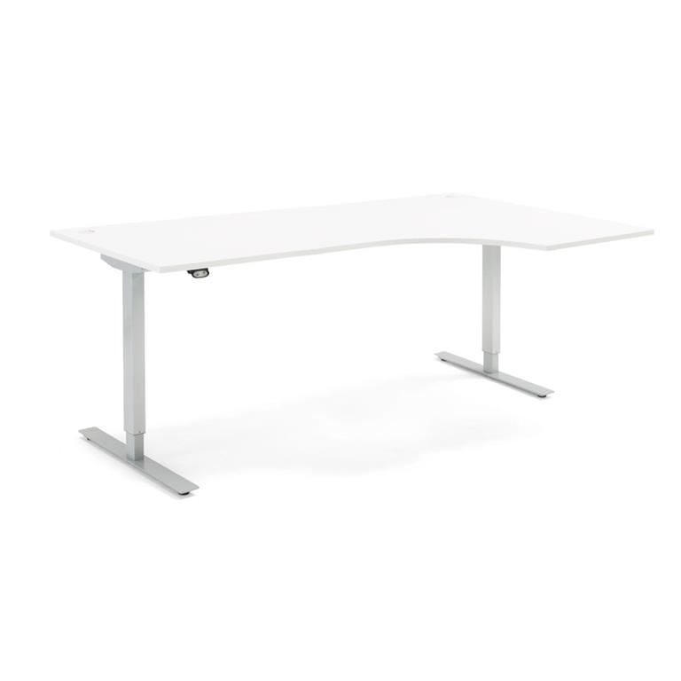 Ergonomiczne biurko Flexus, elektryczne, 2000x1200 mm