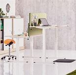 Skrivbord rakt, höj- och sänkbara, Movus