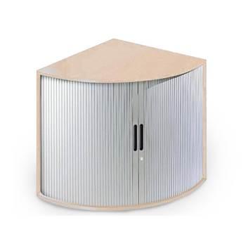 """""""Largo"""" desk end tambour storage cabinet"""
