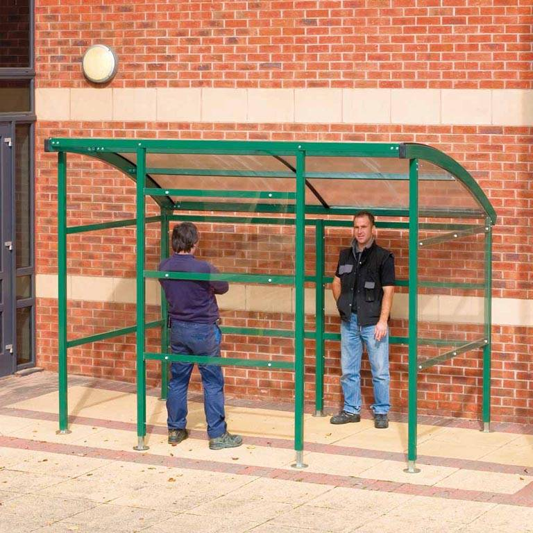 """Premier"" outdoor smoking shelter"