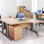 """Largo"" straight desk"