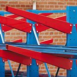 Cantilever racking: heavyweight: arms