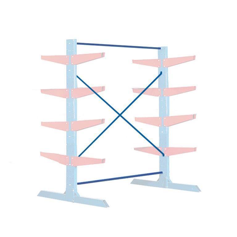Cantilever racking: heavyweight: cross-brace