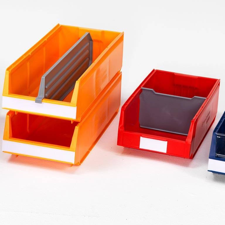 Modular bin dividers
