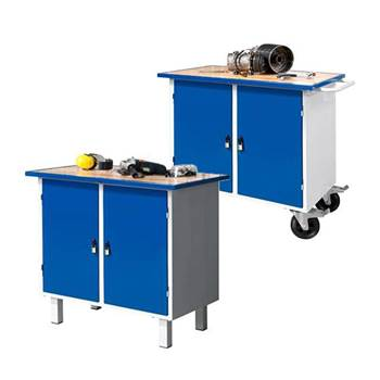 """Flex"" workbench: 2 cabinets"