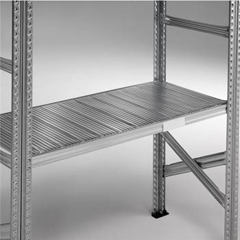 Extra galvanised shelves