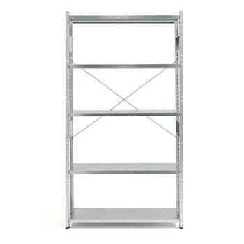 Total galvanised shelving, basic unit