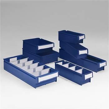 Lagerboks med håndtak, 24-pk, 3, Format HxBxL (mm):100x115x400, Volum (L):3,4