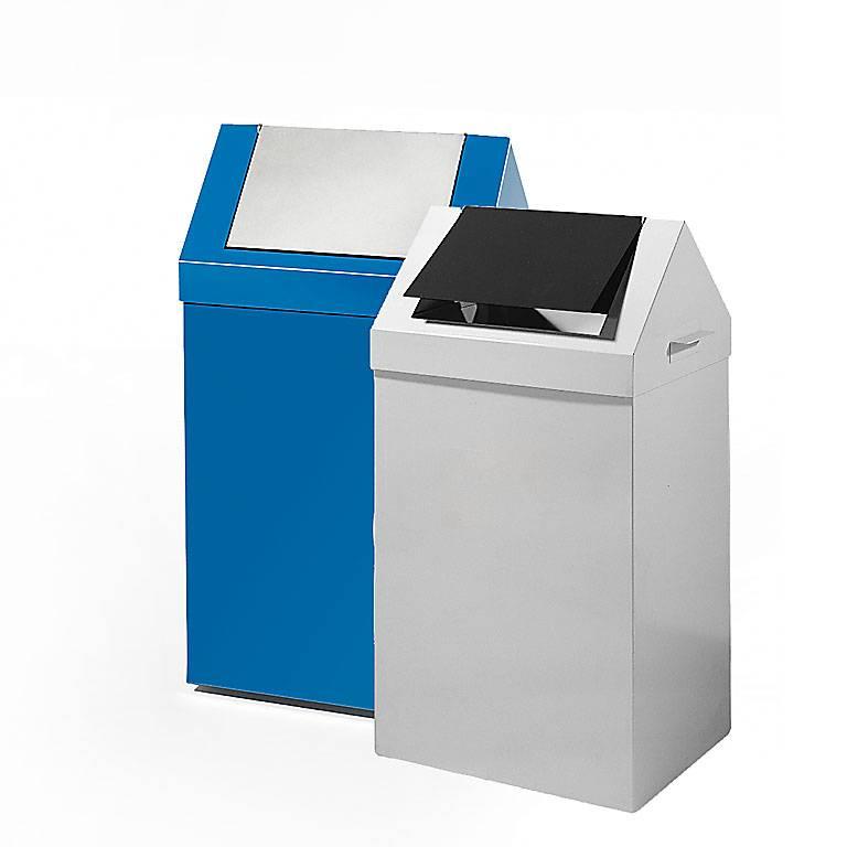 Avfallsbehållare 70 liter med vipplock