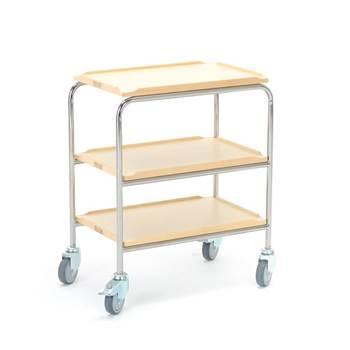 Wózek z 3 półkami