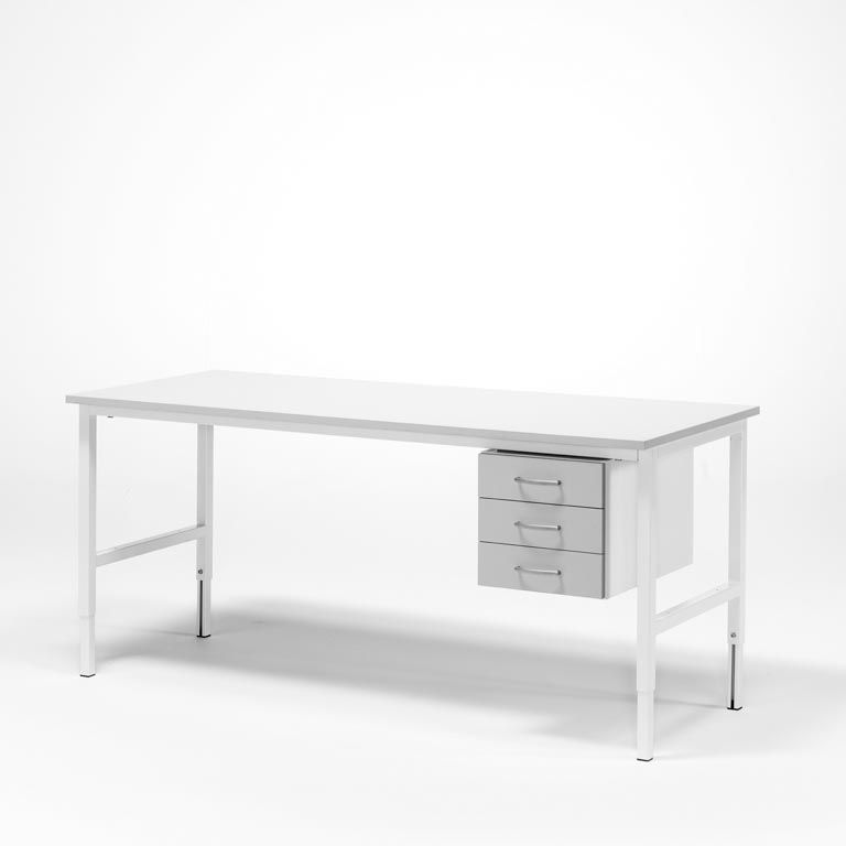 Worktable - Package price with 3 drawers