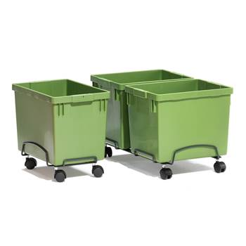 Wózek na pojemniki do sortowania