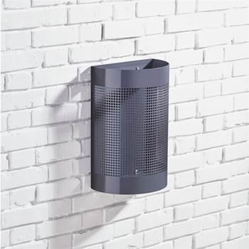 Avfallsbehållare 25 liter för väggmontage