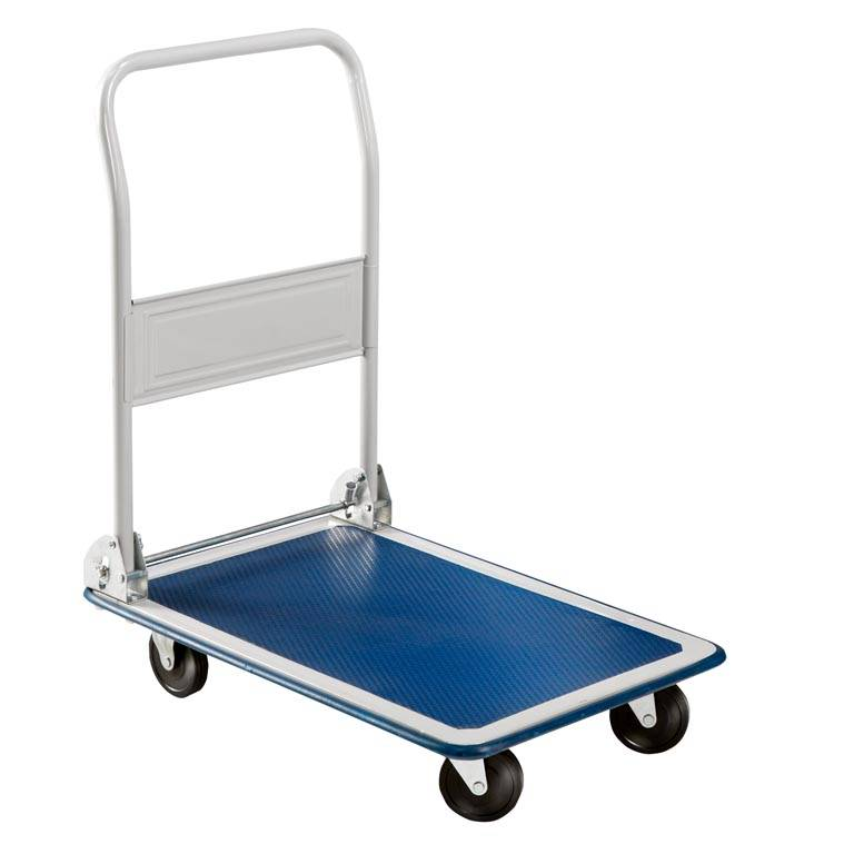 Flexible platform trolley