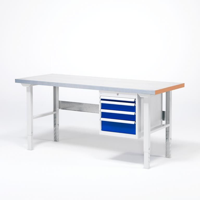 Workbench - Package deal with drawer unit and 4 drawers