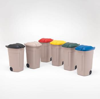 Refuse sorting containers