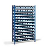 Package deal: shelving for small parts: 88 bins