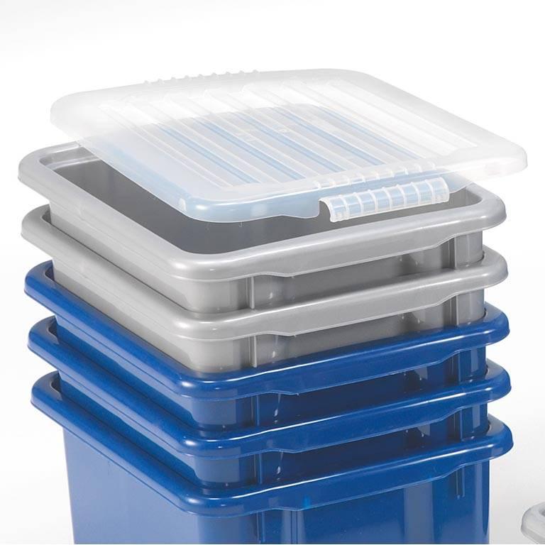 Lid for economy plastic box
