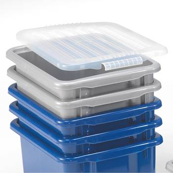 Lid for economy plastic box