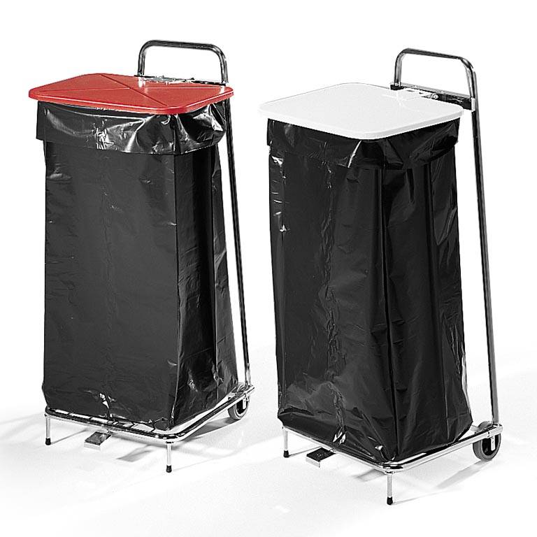 Refuse sack stand: 125L