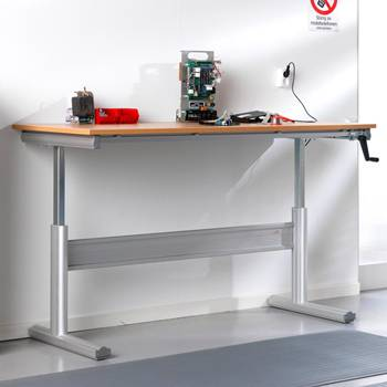Arbetsbord, höj- och sänkbart