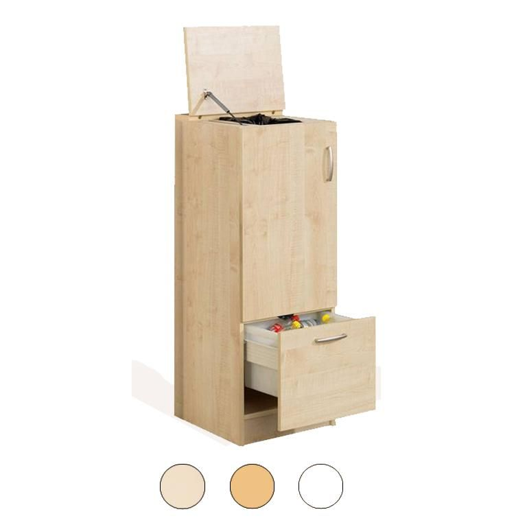 Waste sorting cabinet
