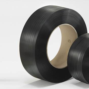 Packaging strapping: PP-band: black