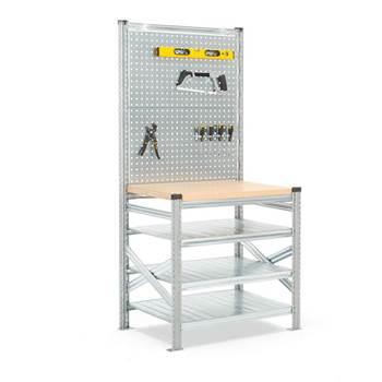 Workbench: basic unit + tool panel