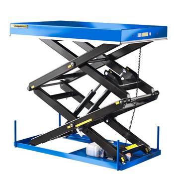 Double scissor lift tables