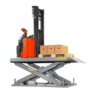 Large capacity lift tables