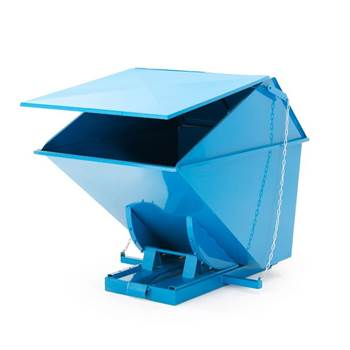 Auto self tipping skip