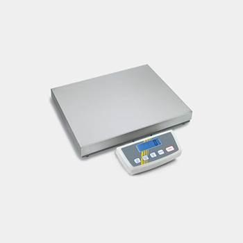 Elektronisk pakkevekt med rustfri veieplate