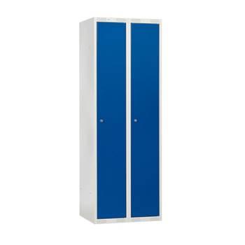 Clothes locker: double module