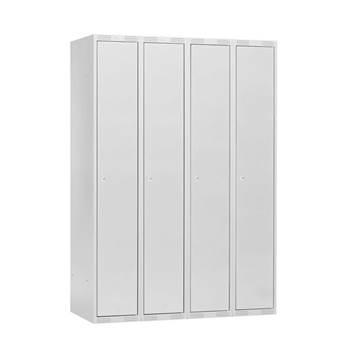 Clothes locker: quadruple module
