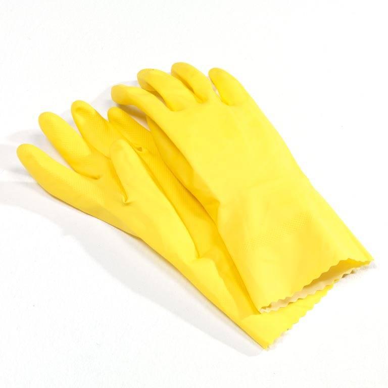 Gumowe rękawiczki