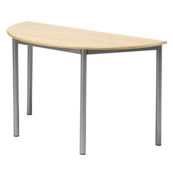 Boras desk, semi-circular, L 1200 mm, H 800 mm
