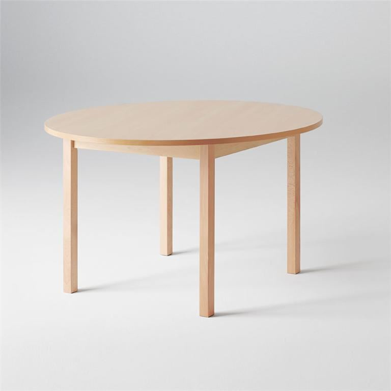 """Europa"" circular noise reducing tables"