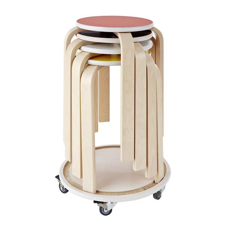 """""""Birch"""" school stool, H530 mm"""