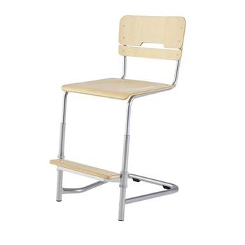 Vos student chair, H 450-630 mm