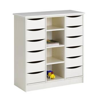 Storage Cabinet, 12 drawers