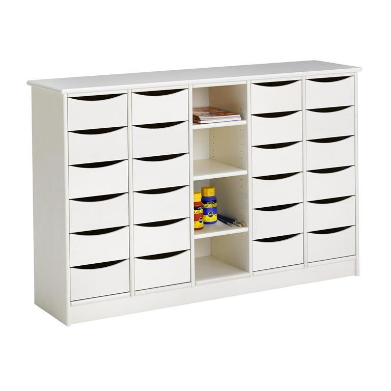 Storage Cabinet, 24 drawers