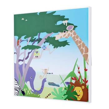Sound absorbing art, animal theme
