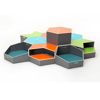 Hexagonal block module