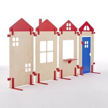 Ścianki działowe do pokojów zabaw