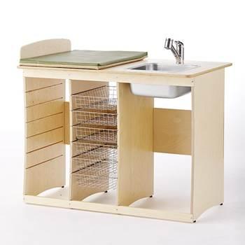 Skötbord Björk