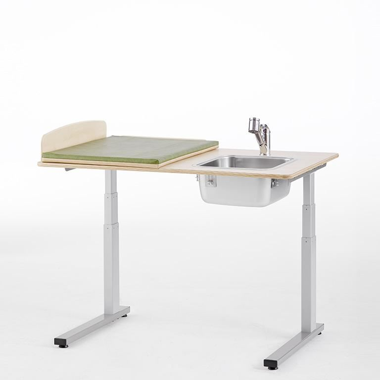 """Elit"" Height-adjustable baby changing table"