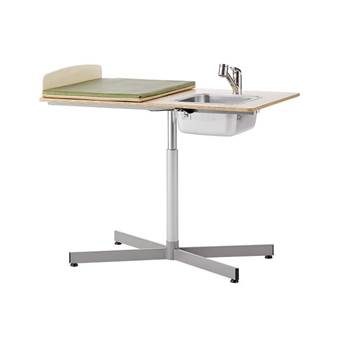 Manual Height-adjustable baby changing table