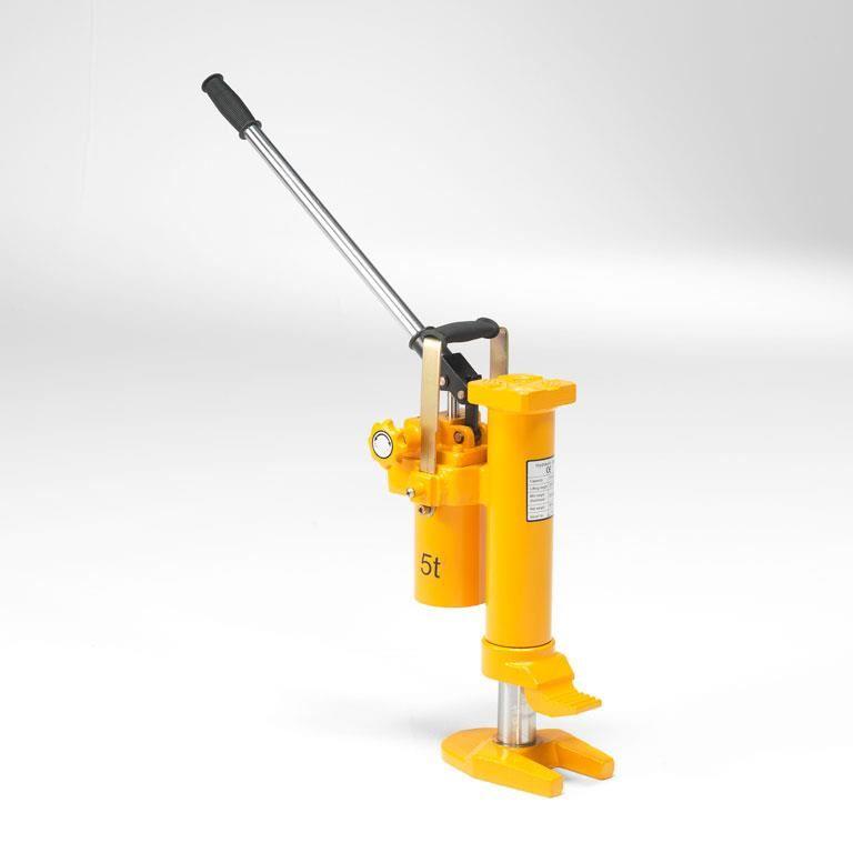 Hydraulisk donkraft, kompakt og stabil