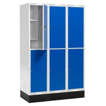 """Roz"" II student locker, 3 sections"