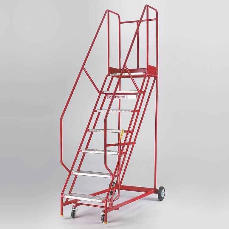 """""""Steptek"""" mobile safety steps"""